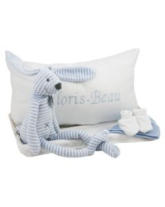 Blue Rabbit Reece tray met babykussen