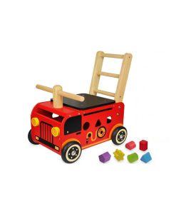 I'm Toy Loopwagen Brandweerauto