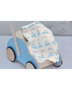 Auto babydeken met naam