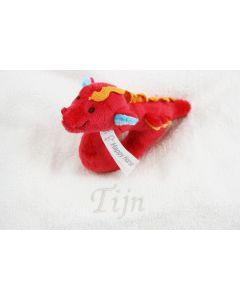 Dragon Duncan Rattle op monddoekje met naam - geen verzendkosten