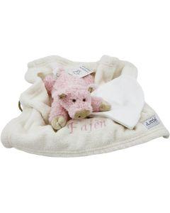 Floppy Farm Lying Pig op tray
