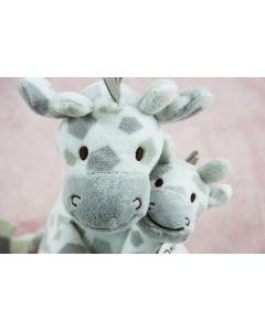 Girafjes GaGa op knuffeldoekje - Strawberry Ice