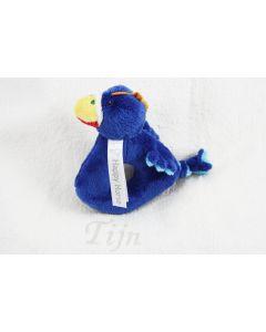 Lapgayo Bird Rattle op monddoekje met naam - geen verzendkosten