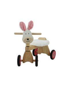 I'm Toy Loopfiets konijn met knuffeldoek