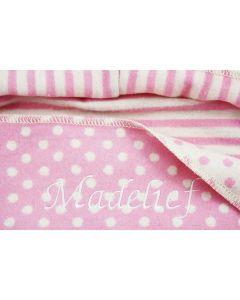 Babykado, Katoenen Overslagdeken - roze