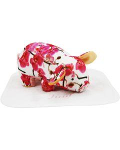 Pig Patty op slab met naam