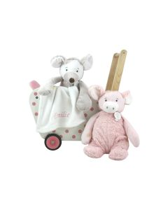 Poppenwagen met Pig Palermo of Mouse Milano