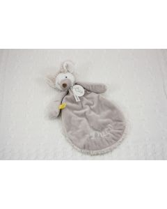 Mouse Milano tuttle op gebreide deken, wit