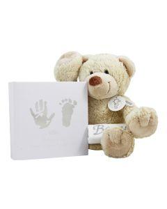 Bear Boogie met hand/voet print van BamBam