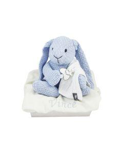 Gebreid konijn van Baby's Only op tray