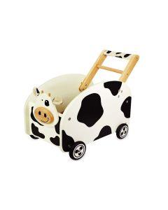 I'm Toy Loop/duwwagen Koe met knuffeldoekje