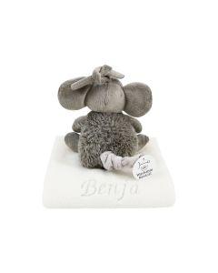 Mouse Moby Musical op knuffeldoekje