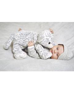 Panther Peppy op babydeken - lichtblauw of mint