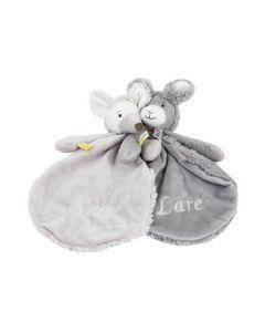 Tweelingcadeau, Rabbit Roma en Mouse Milano tuttle