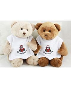 Xmas - 'mijn eerste kerst' slab met Bear Buster of Bear Boris